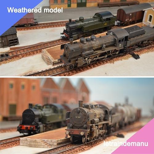 letraindemanu (838b) patine locomotive à vapeur Ho série 38 DB Marklin 3098.jpg