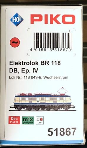 Piko E118 02