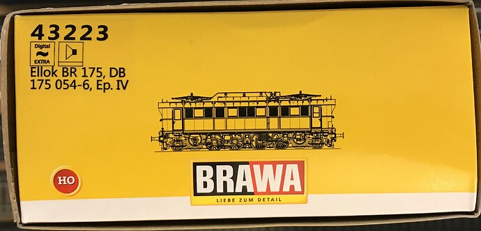 Brawa 43223 - E175 a