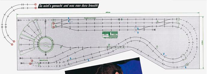 Primex 1988 Anlage Katalog Gleisplan