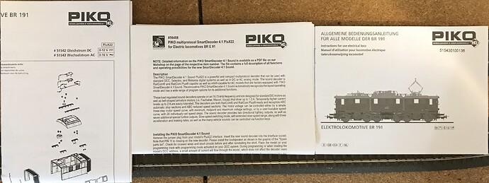 Piko 51543 - E191 f
