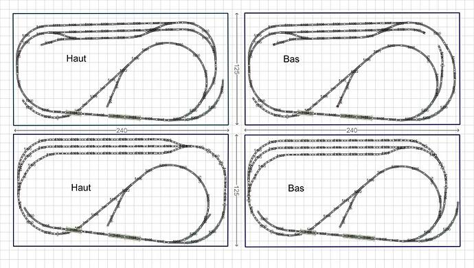 Variations en voies M sur un réseau connu