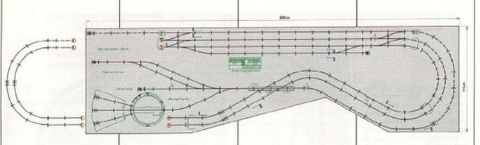 Primex 1989 Anlage Katalog Gleisplan