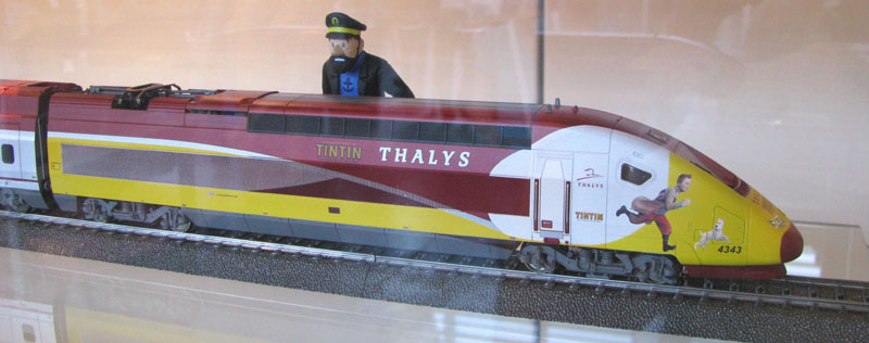 Märklin Thalys Tintin 02 07-06-2013 Photo Bertrand VIMONT