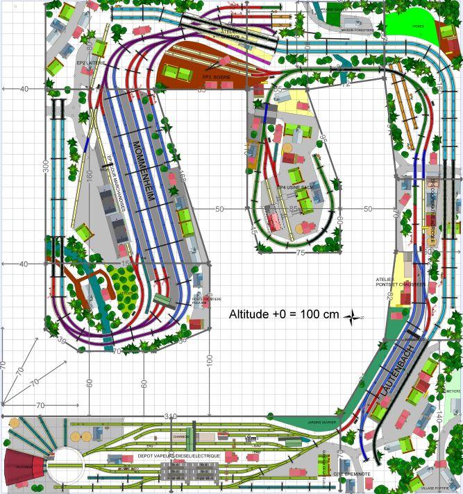 OG-track MARKLIN M réseau Mommenheim (1)