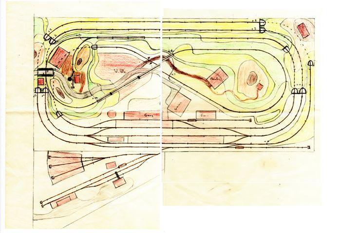 OG-track MARKLIN M réseau St Jean