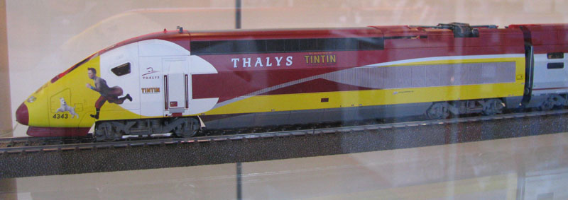 Märklin Thalys Tintin 04 07-06-2013 Photo Bertrand VIMONT