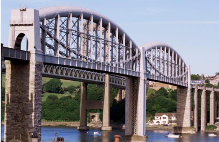 Saltash railway bridge