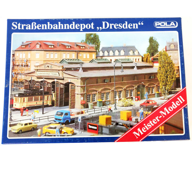 POLA StraBenbahndepot Dresden